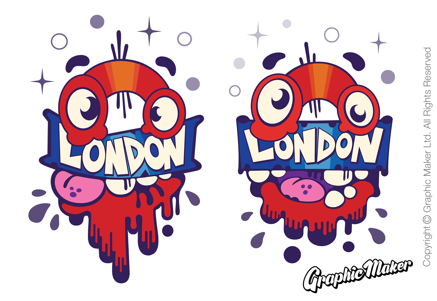 Monstrocity London T-Shirt Designs