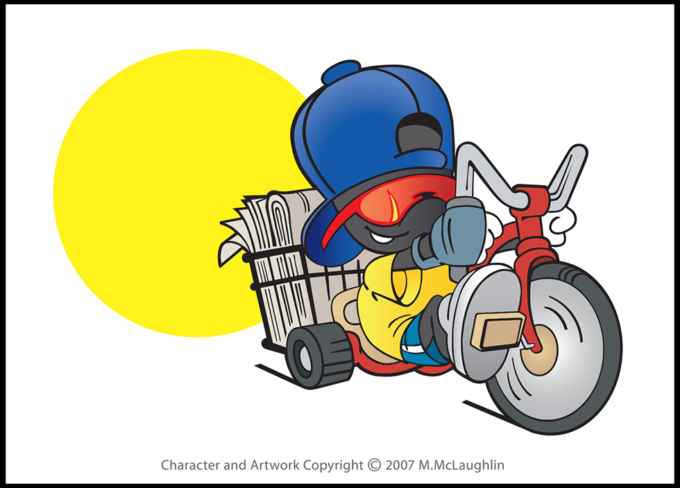 Paperboy Tricycle